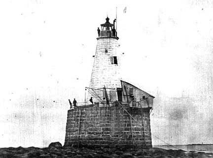 First Whaleback Lighthouse