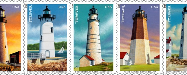 Exciting news! The U.S. Postal Service will soon be releasing a new series of five New England Coastal Lighthouse stamps. The set features five lighthouses: Portland Head, Maine; Point Judith, […]