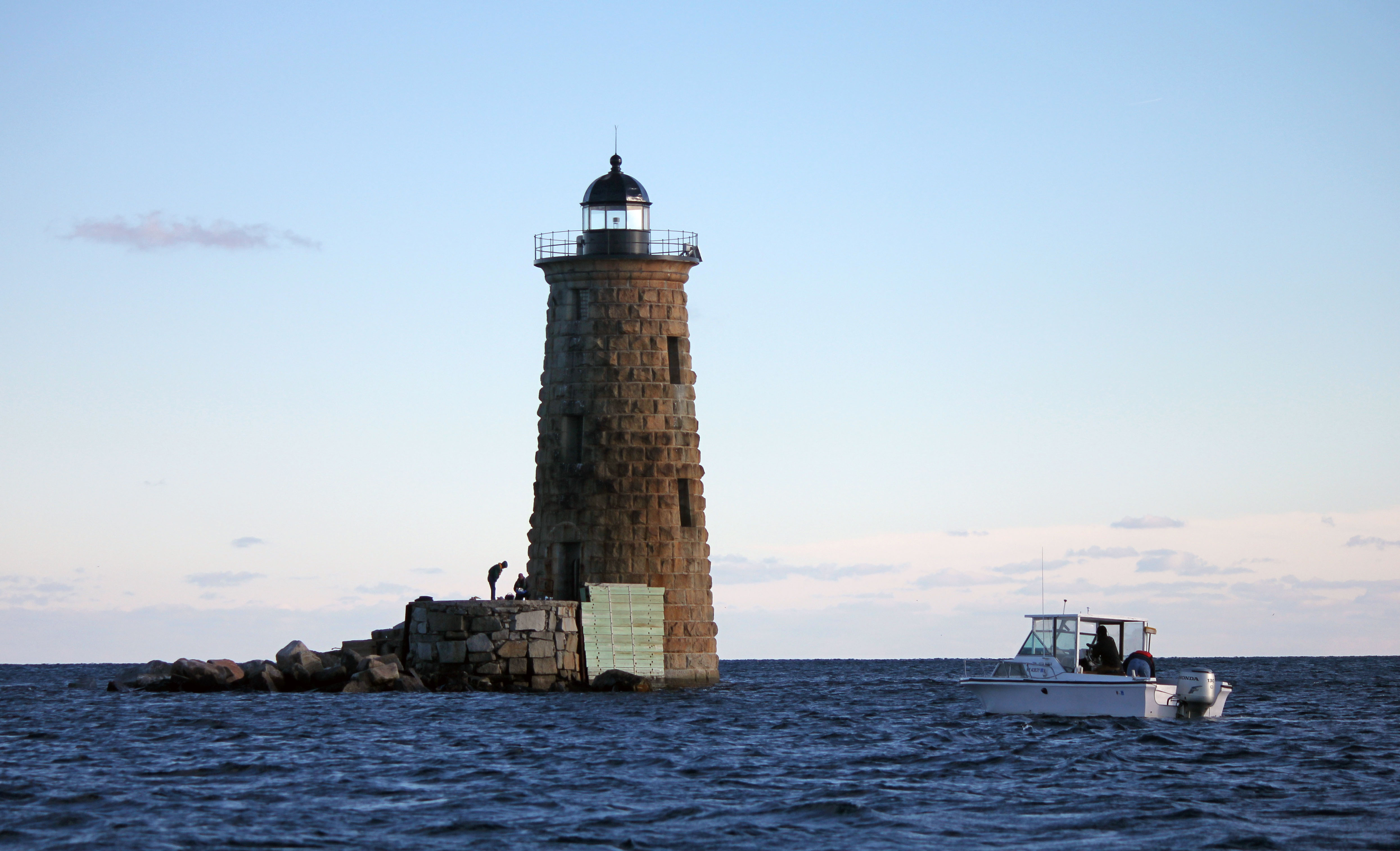 Mission Completed As Creekman Swims To Whaleback Lighthouse