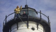 Volunteers of Friends of Portsmouth Harbor Lighthouses put up Christmas lights on Portsmouth Harbor Lighthouse on the Saturday after Thanksgiving. The large wreath seen on the right was installed by personnel […]