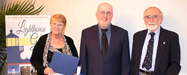 Faith and Pete Richard of the Friends of Portsmouth Harbor Lighthouses were presented with ALF Len Hadley Volunteerism awards during the American Lighthouse Foundation's annual Gala, which was held at […]