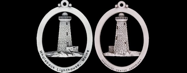 For the entire month of December 2017, every donation of $100 or more to Friends of Portsmouth Harbor Lighthouses will be rewarded with a brand new pewter ornament of Whaleback […]